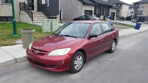 2005 Honda Special SE Sedan Automatic (Need 7 Passenger)