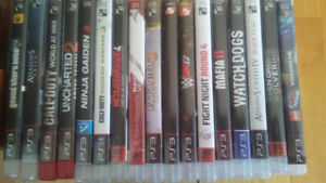 Videogames for ps3