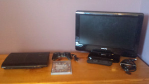 """Playstation 3 with 20"""" TV"""