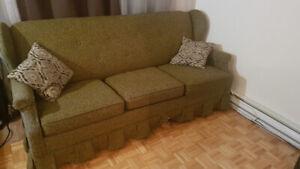 Canapé / Sofa King Size Bed 3 place Sleeper sofa