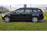 2008 VOLVO V50 SE 2.0D, BLACK LEATHER,FSH,12 MONTH MOT READY TO DRIVE AWAY TODAY