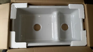 KOHLER enamel cast iron sink...new