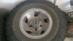 Ford F150  wheel and tire package