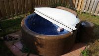 6 man soft tub hot tub