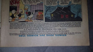 Antique vintage Walt disney comic books