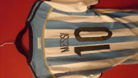 ARGENTINA HOME JERSEY BRAND NEW! ( MESSI #10)