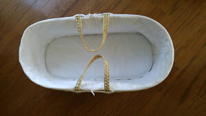 Moses Basket with Jolly Jumper Stand. Peterborough Peterborough Area image 4