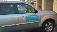 Got your own car ? Make money by advertising on your car!