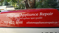 Appliance Parts Alliston,Beeton,Tottenham and area