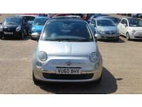 2010 Fiat 500 1.2 Lounge (s/s) 3dr