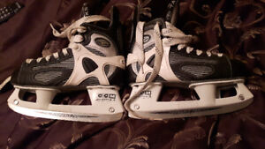 2 Pairs of Hockey Skates 1 Pair of figure skates