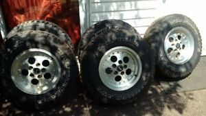 """1993 Jeep YJ original Mags 15"""" $150,  qty 5 mags"""