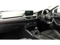 2017 Mazda 6 2.0 Sport Nav 4dr Petrol black Manual