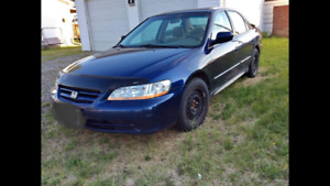 2002 Honda Accord for parts only!