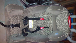 evenflow convertible car seat