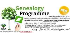 Genealogy - Family History - Paper and DNA research