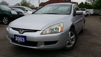 2003 Honda Accord EX-L Coupe (2 door)-CERTIFIED & E-TESTED!
