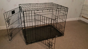 Medium large dog crate for sale