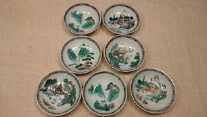 Chinese hand painted dishes