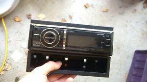 Kenwood stereo deck and Pioneer subwoofer