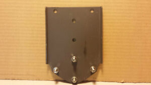 Satellite Dish Gable Eave Mount Bracket