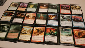 Selling 1200+ Magic card collection for 25$