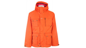 Manteau hiver ski snow Oakley Battalion Orange homme Large