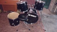 4 Piece shell pack drums