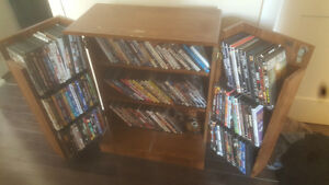Shelving unit and movies/dvd's