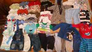 Boys 0-3 Months Clothing  ($25 for lot)
