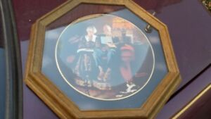 NORMAN ROCKWELL FRAMED COLLECTOR PLATE