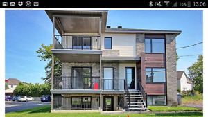 Appartement tout neuf à St-Luc