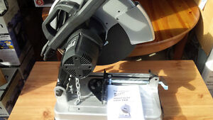 Heavy duty chop saw. Used only 1 time for 5 minutes