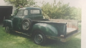 1955 Chevrolet 1st Series Pick Up Truck