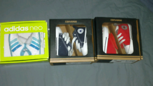 3 X BABY SHOES CONVERSE ADIDAS