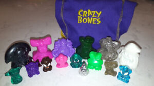 Crazy Bones Collection and Bag