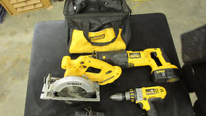 DeWalt 3 piece combo kit - 18 V
