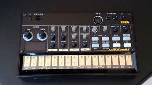 Barely used Korg Volcabeats in the box