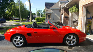 Trade my porsche boxster for a muscle car ?