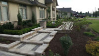 LANDSCAPING & INTERLOCKING STONE DRIVEWAY PATIO FIBERGLASS POOL