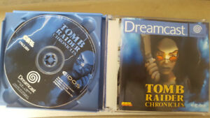 Dreamcast games - Tomb raider chronicles and Dead or Alive 2