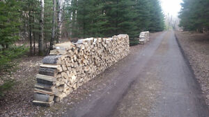 Cut and Split Poplar Fire Wood