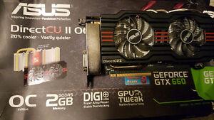 Asus GTX 660 2GB Directcu II