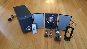 TEAC MC-DX20 Micro Hi-Fi and CD Player Stereo System