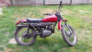 Late 70s Yamaha Dt125 enduro