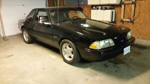 Supercharged 1991 Mustang Notchback