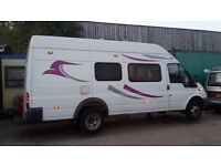 Ford Transit T350 Long Wheel Camper Van