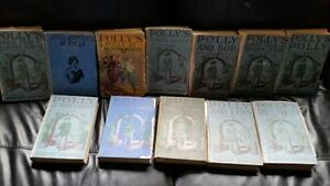 Antique Polly 12 Books  1916 -