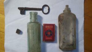 Various antique items