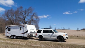 21ft Rush Toy Hauler (2013)